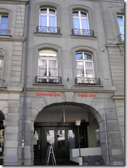 The Einsteinhaus on the Kramgasse in Bern, where Einstein lived with his wife during his Annus Mirabilis